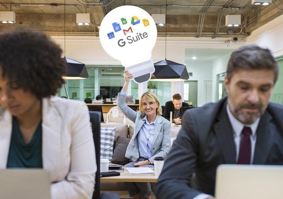 G Suite, la solución de Google para colaboración y productividad