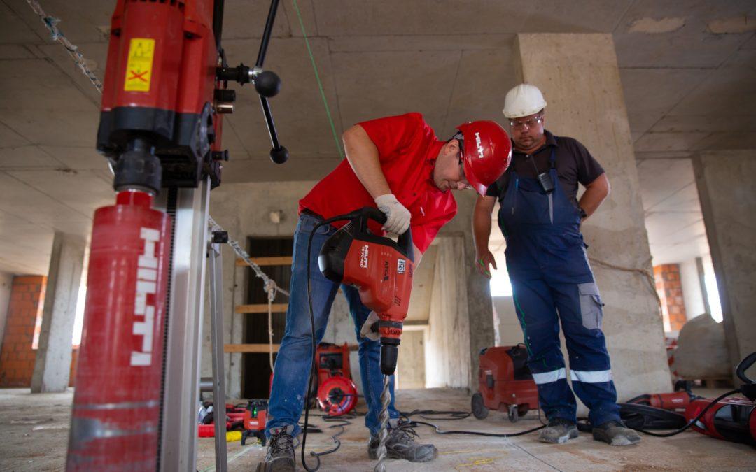Control de activos para equipamiento de construcción
