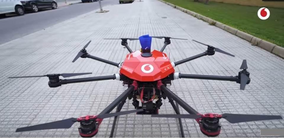 5G para drones, la revolución viene de la mano de Vodafone